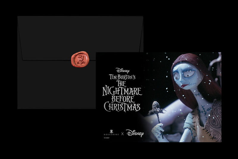 Roseshire x Disney Nightmare Before Christmas Greeting Card