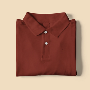 Brick Red Polo