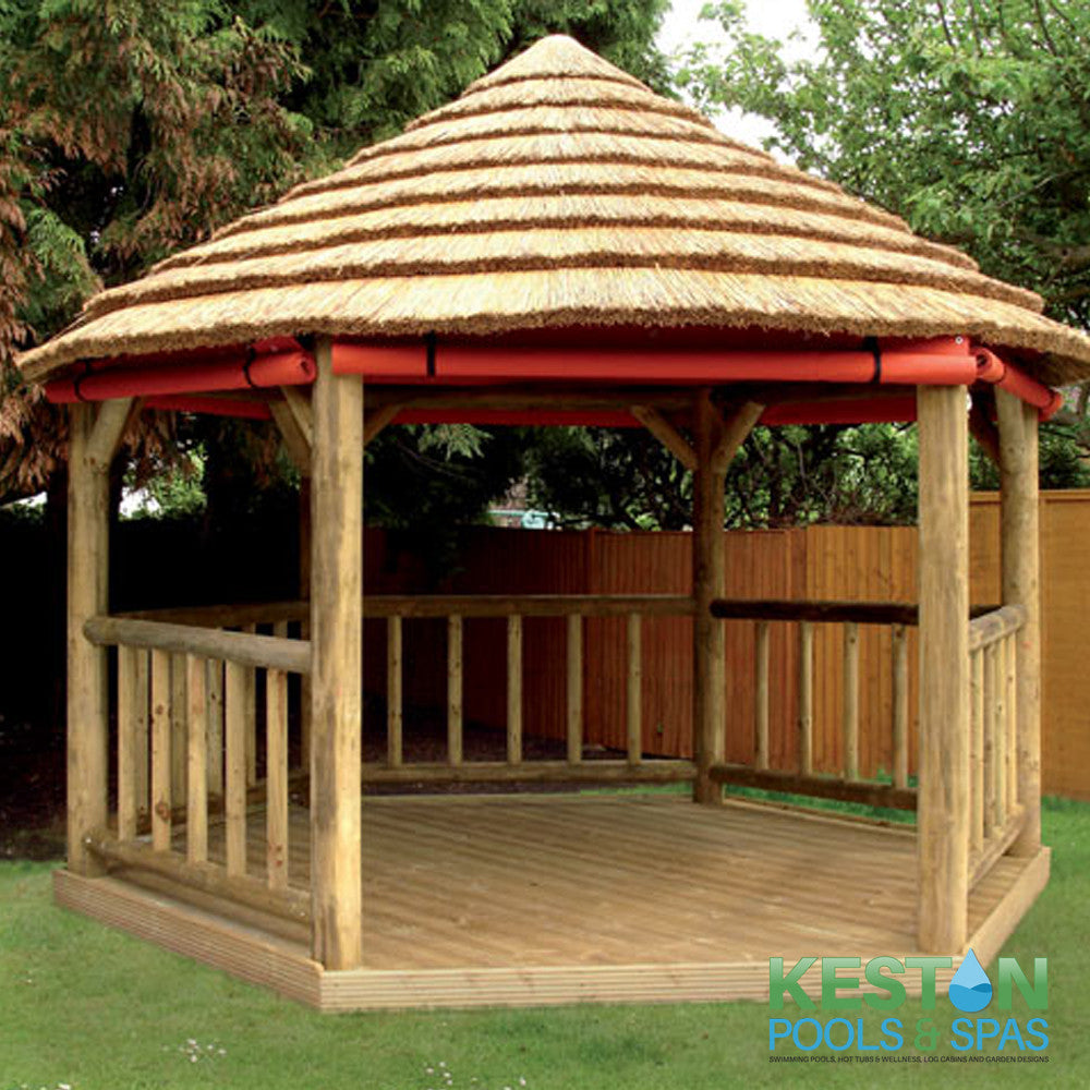 Thatched Gazebo 3.2m