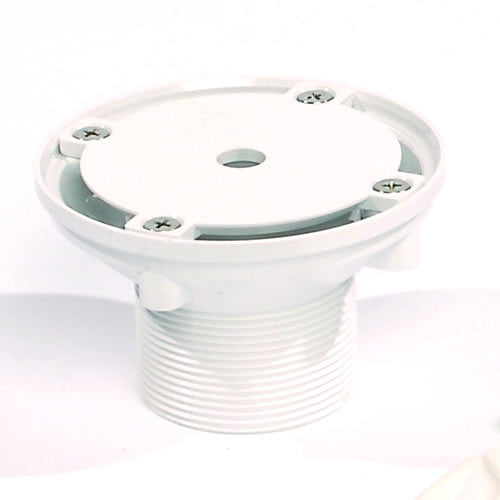 VF104 Floor Fitting Concrete White Abs
