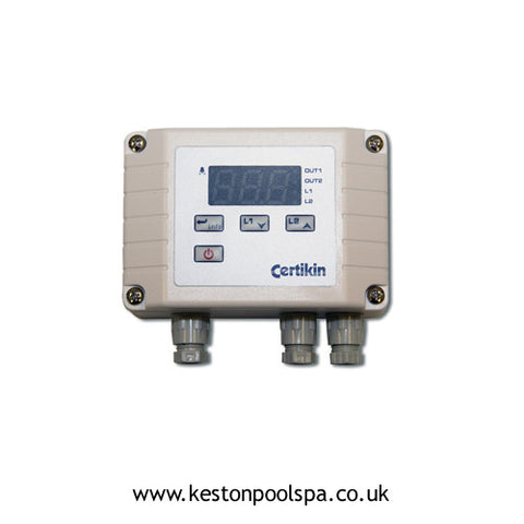 Certikin Digital Pool Thermostat for Swimming Pool Heat Exchanger