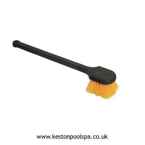 Long Handled Pool / Spa Brush Soft Bristle