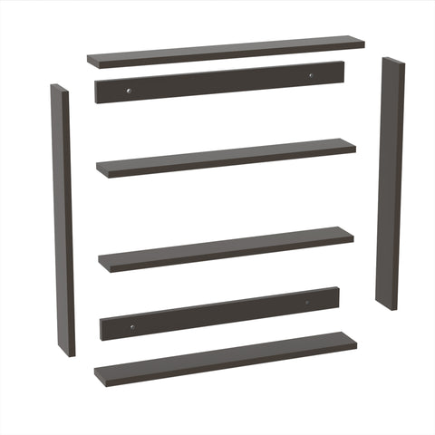 WOODEN KITCHEN RACK