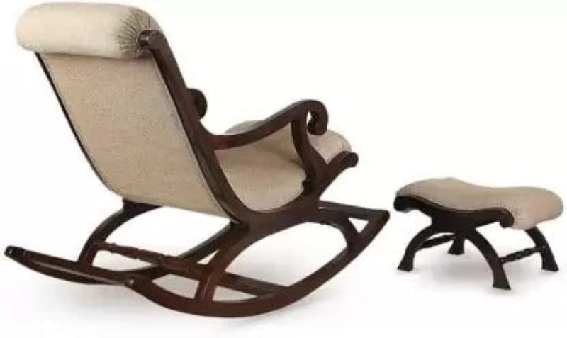rocking chair with foot rest