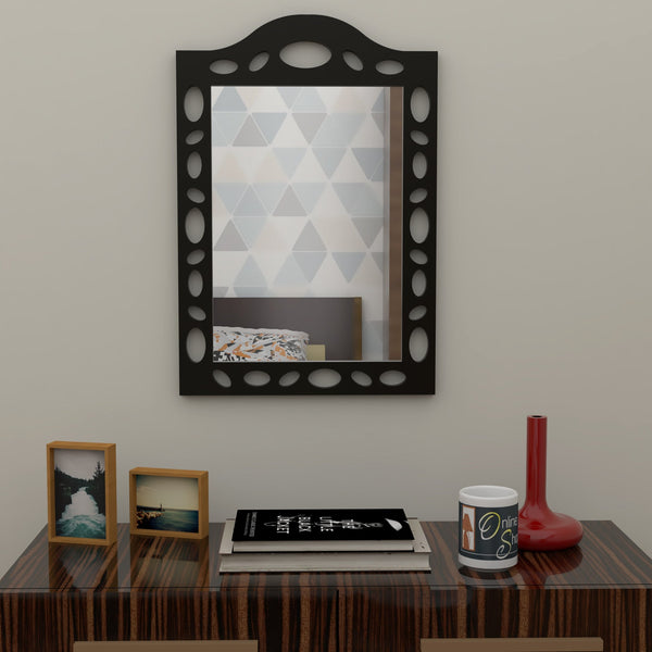 wooden decor mirror for living room