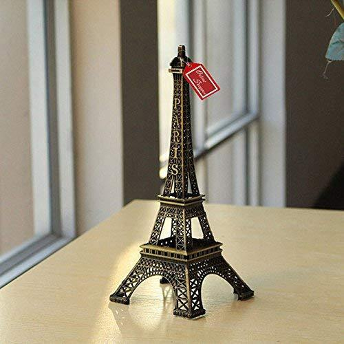 metal eiffel tower showpiece