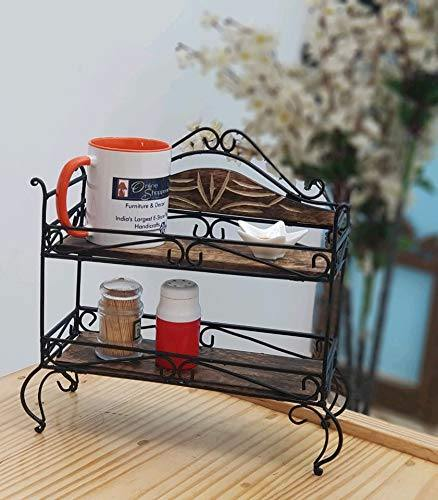 antique shelf rack