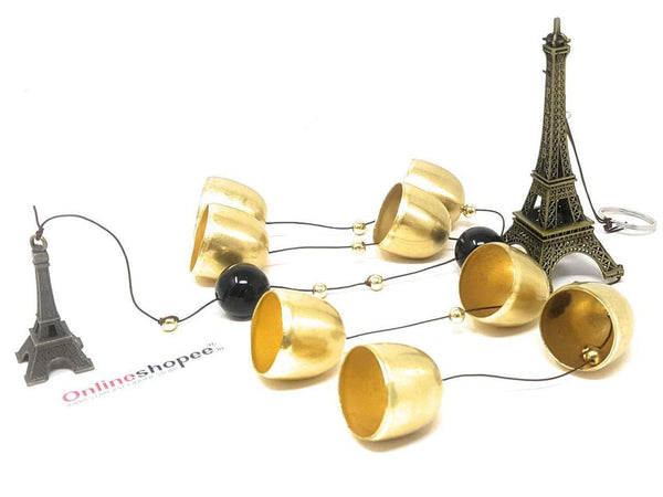 eiffel tower wind chime