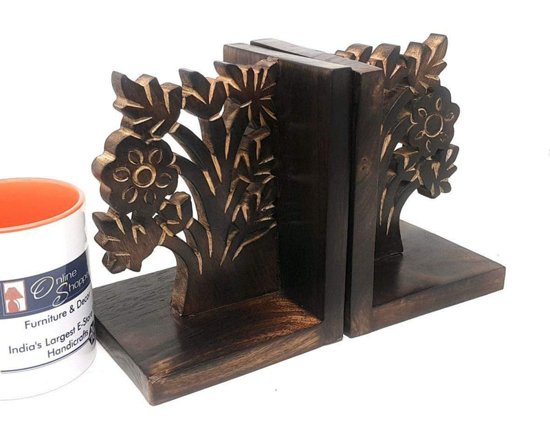 handcrafted bookend