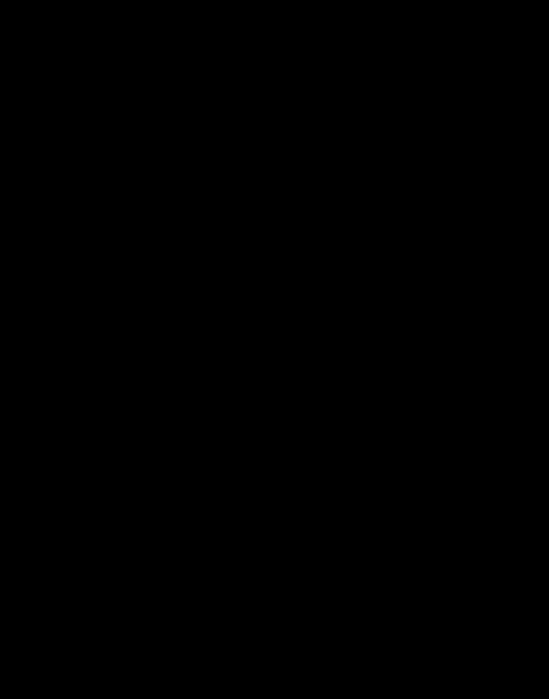 Wooden And Iron End Table