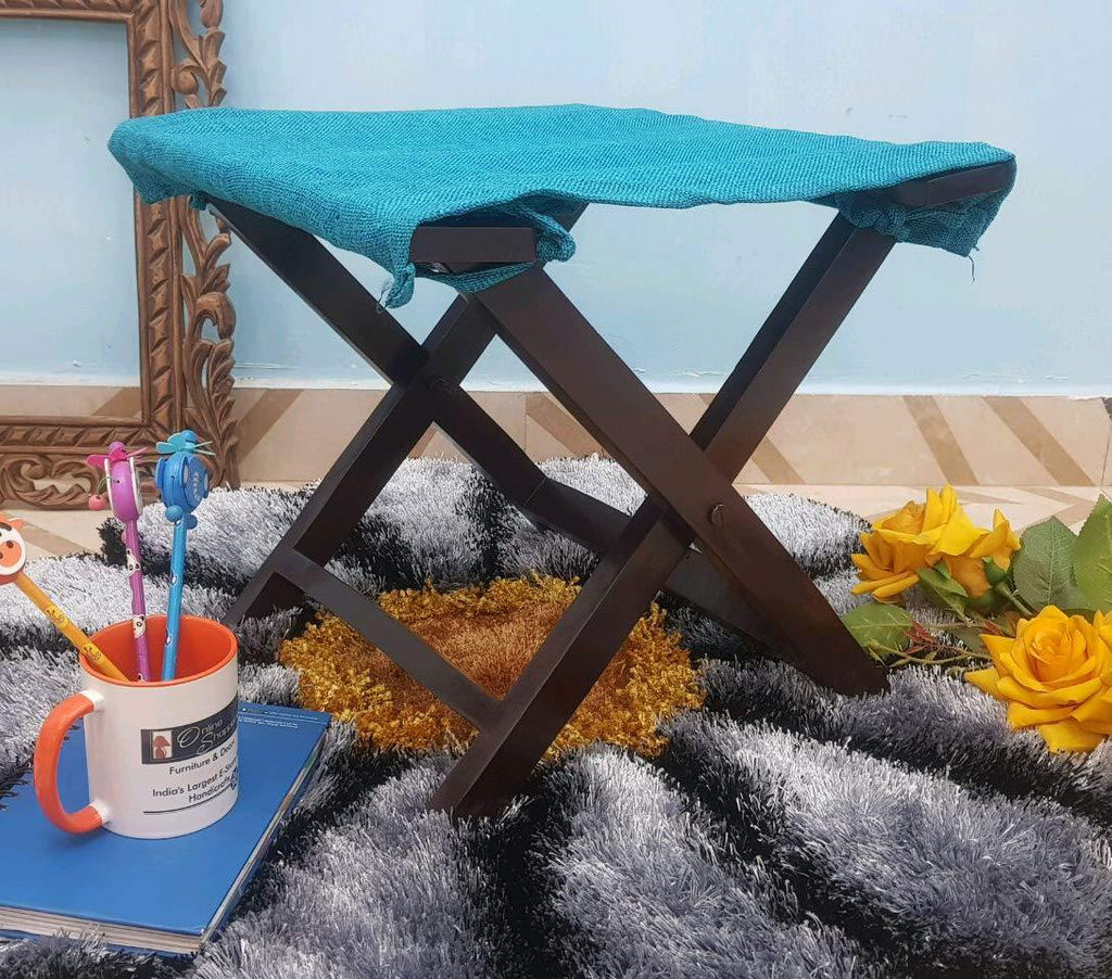 Fergie Foldable Stool (Sky Blue)