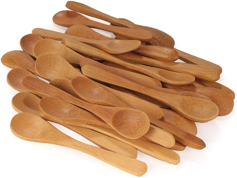 wooden spoons used for spice jars