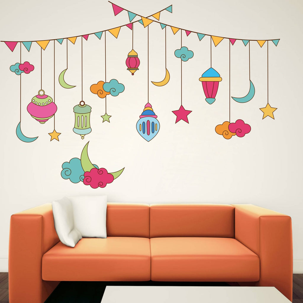 Beautiful Abstract Design Wall Sticker