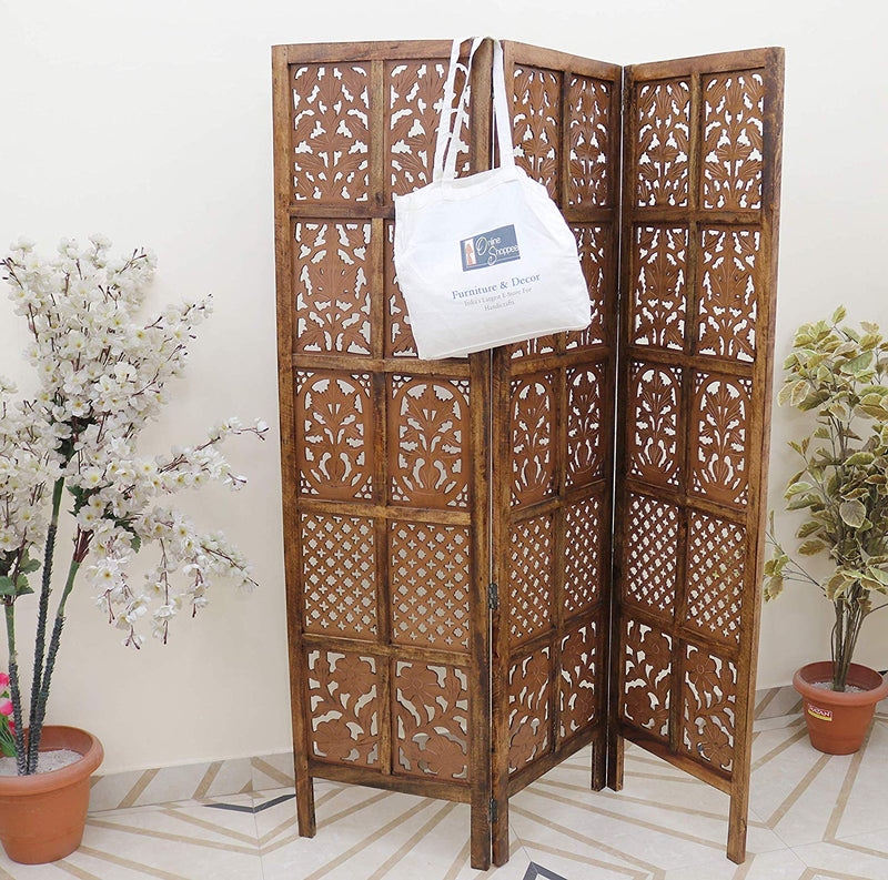 Wooden Room Divider/Wood Separator/Office Furniture/Wooden Partition