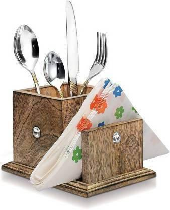 Prime Wooden Cutlery Holder