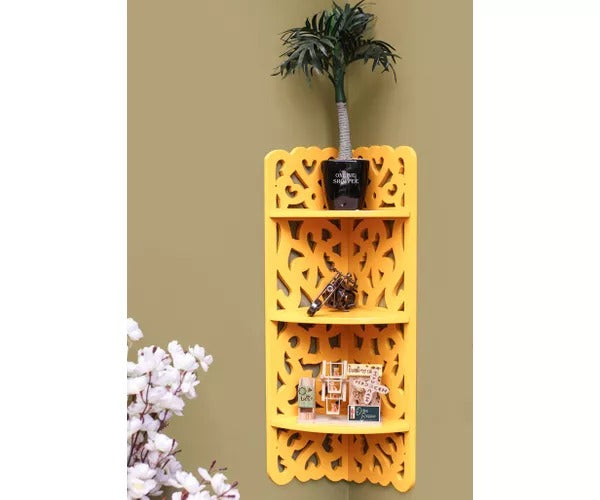 Wooden Tres Niveles Wall Decor Rack Shelf