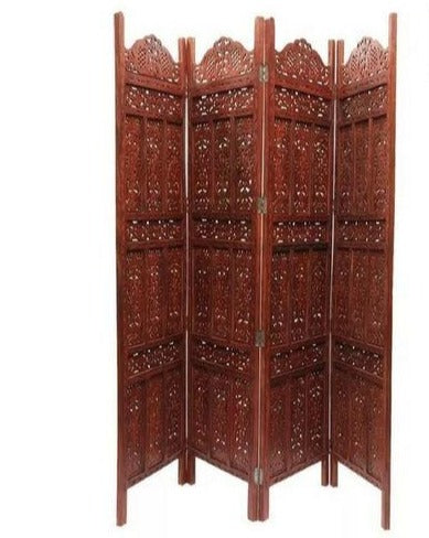 Screen Room Divider In 4 Panel