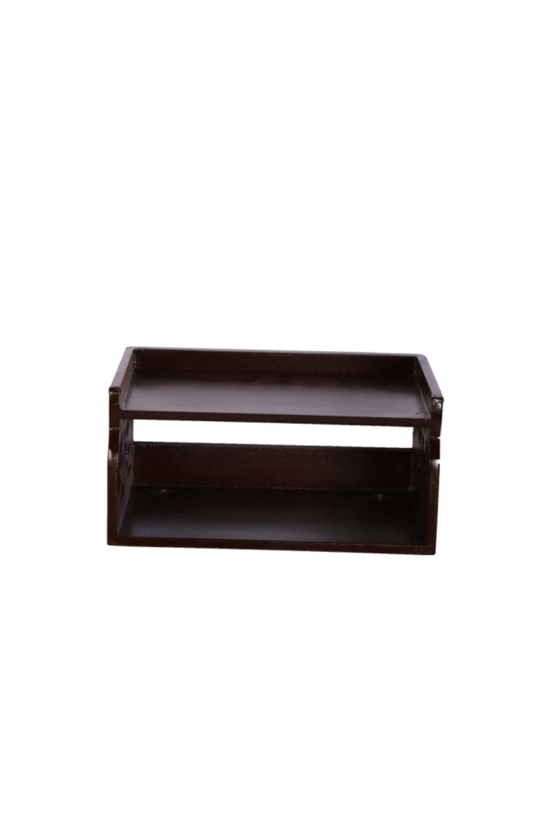 Wooden Beautiful Design Set top box Wall Shelf