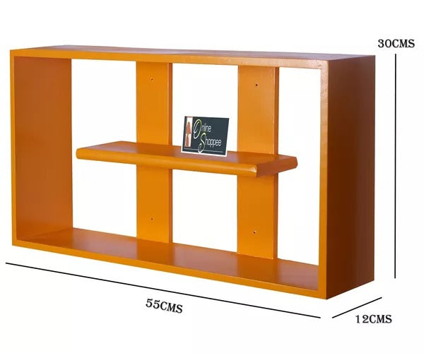 Wooden Handicraft multiple compartments Designer Kitchen Wall Rack