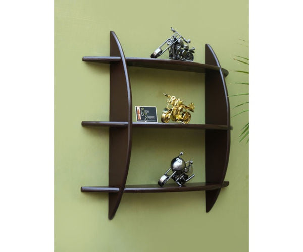 Wooden 3 Tier Floating Wall Shelves