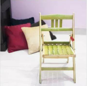 green kids chair