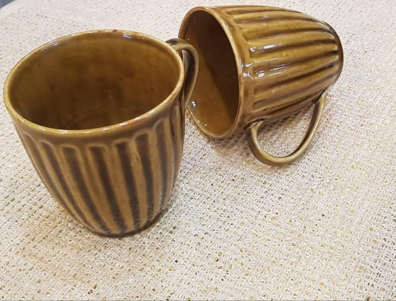 Premium Ceramic Coffee Mugs ( Set of 2 )