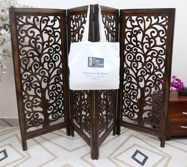 solid wood room divider partition
