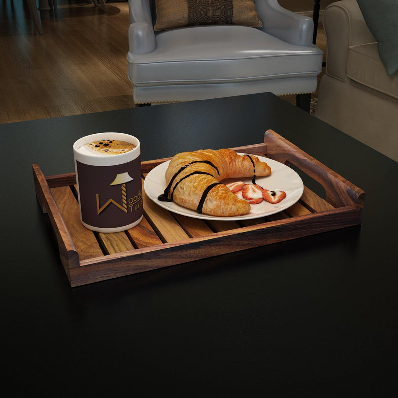 Fine Wooden Serving Tray