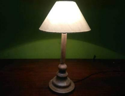 White Shade Table Lamp