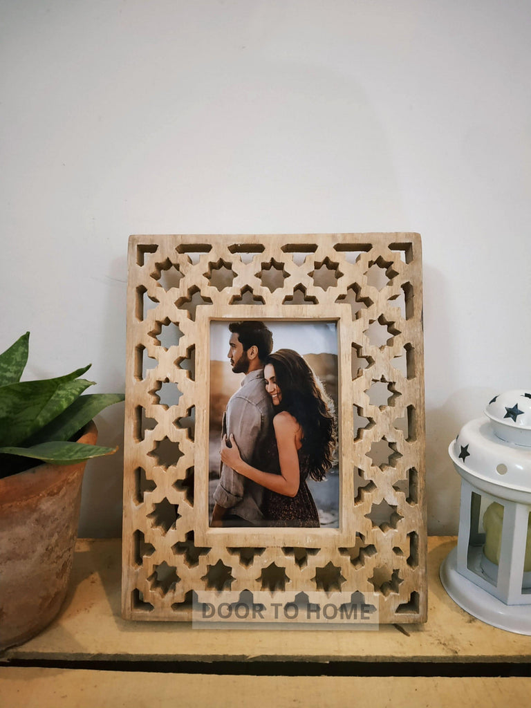 Wooden Table-Top Frame (Large) - WoodenTwist