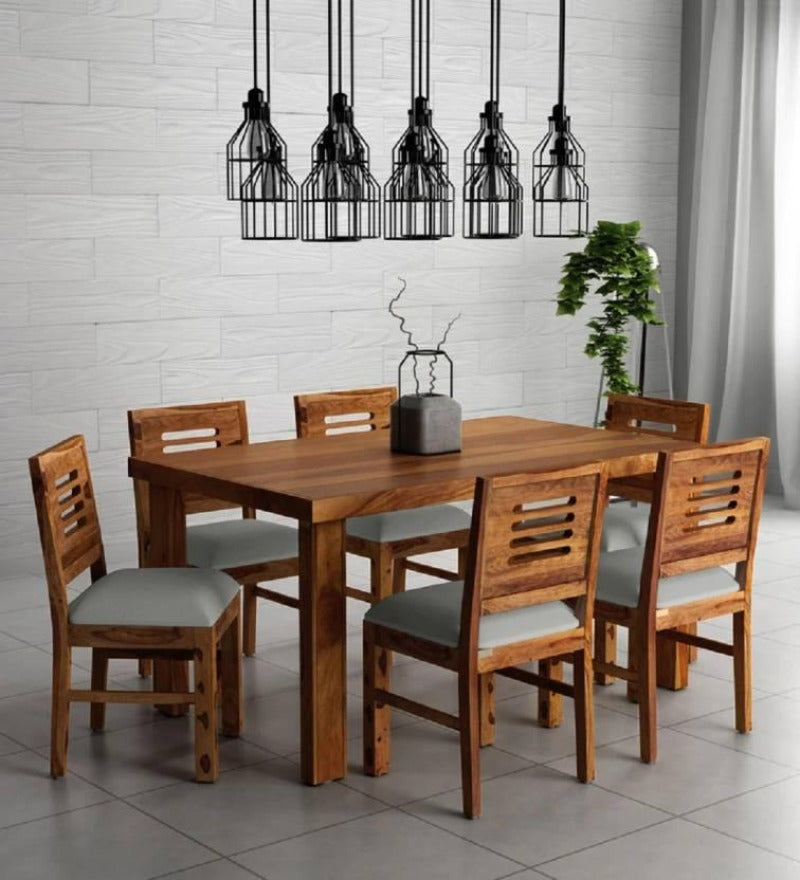 Unique Solid Wood Dining Set ( 6 & 8 Seater )