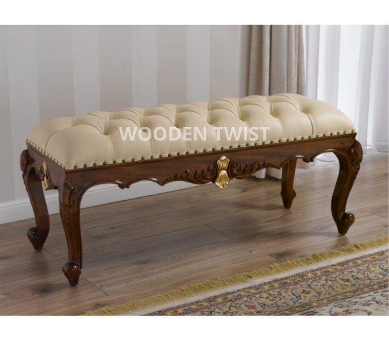 wooden bench couch