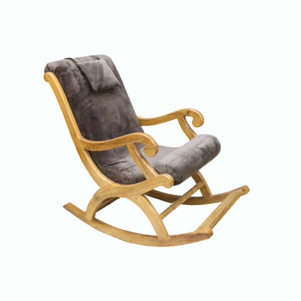 Roccia Premium Sheesham Wood Rocking Chair
