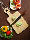 Pure Natural Wooden Fancy Chopping Board