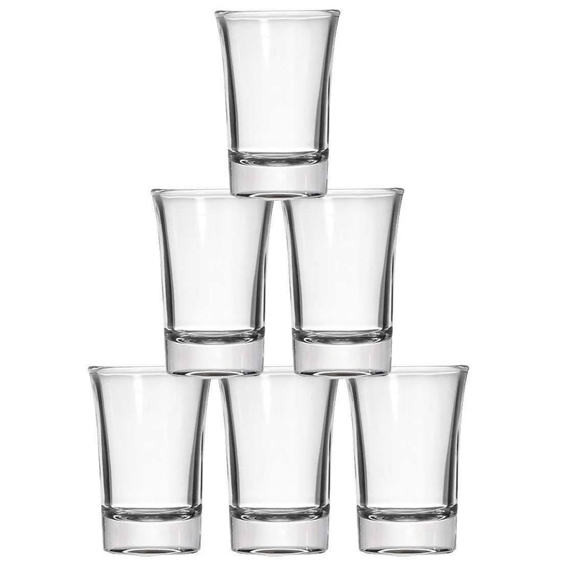 Heavy Base Round Shot Glass (Set of 6)