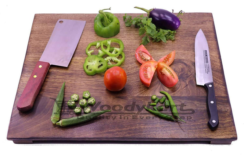 Premium Natural Wooden Kitchen Chopping/Cutting Slicing Board