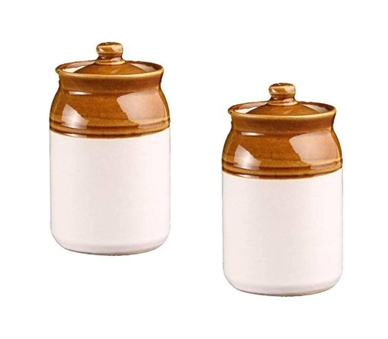 Antique Ceramic Pickle Jar/Ceramic Jars & Container ( Set of 2 )