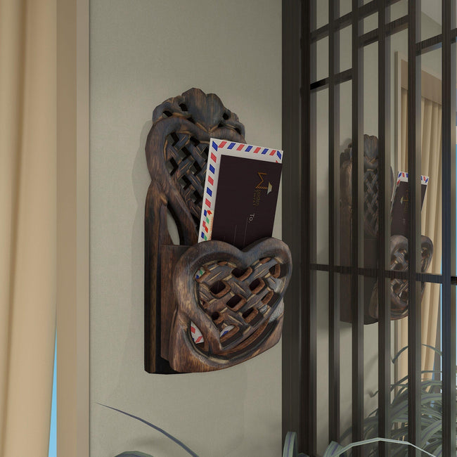 Wooden Carved Home Décor Wall Hanging Rack