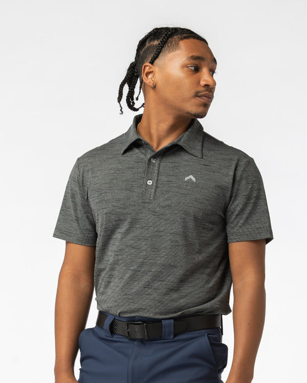 Charcoal Golf Polo - Teeupstore