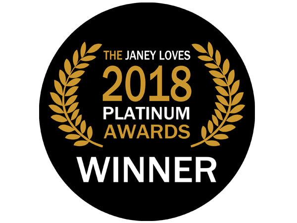 The JANEY LOVES 2018 Platinum Award