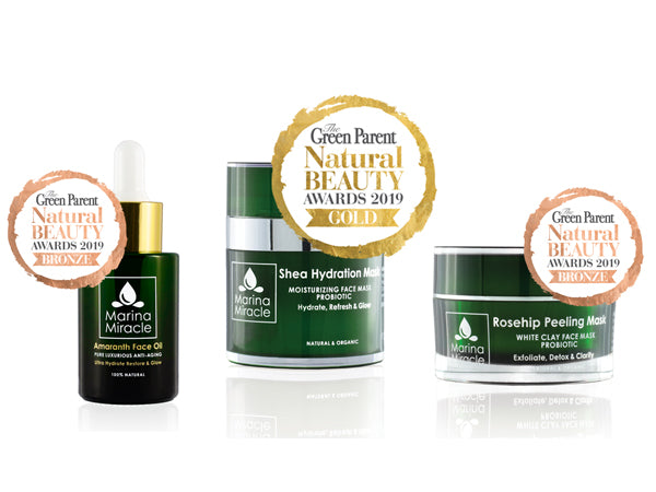 Marina Miracle wins green parent beauty awards