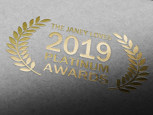 Vi vant pris for Beste Eksfolierende produkt i The Janey Loves 2019 Platinum Award