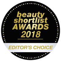 Editors Choice Winner – Beauty Shortlist Awards 2018