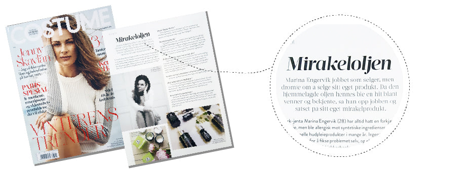 Marina Miracle intervju i Costume