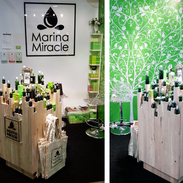 marina miracle messe stand health and beauty