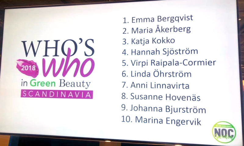 Marina Engervik on top list of whos who in natural beauty scandinavia