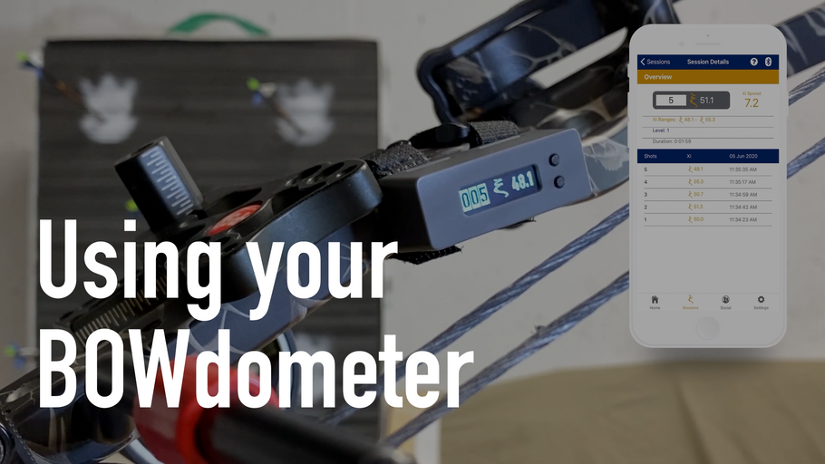 Digging into your shot data with the BOWdometer app