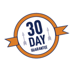Image of 30-day money back guarantee if you're not satisfied with BOWdometer!
