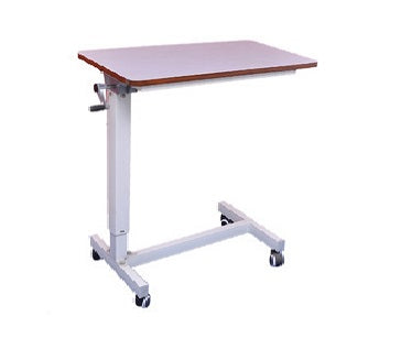 Over Bed Table (Adjustable) by Gear Handle