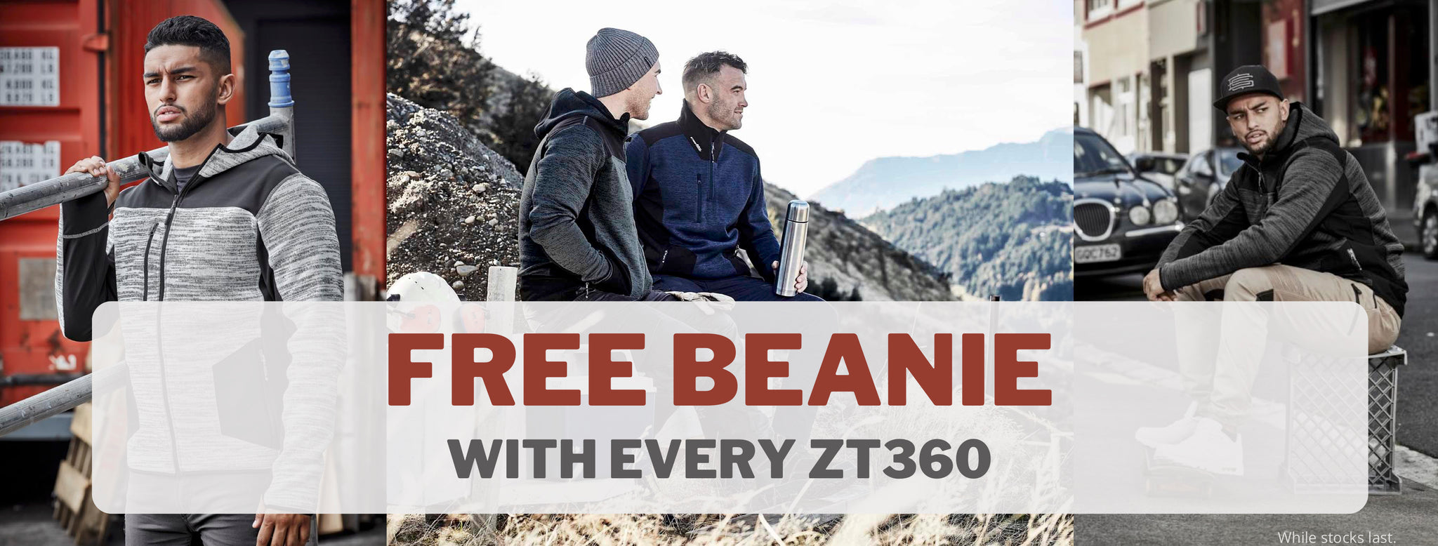 Free beanie with every Syzmik ZT360 Jacket sold at National Workwear Gold Coast. Affordable high quality workwear in Varsity Lakes